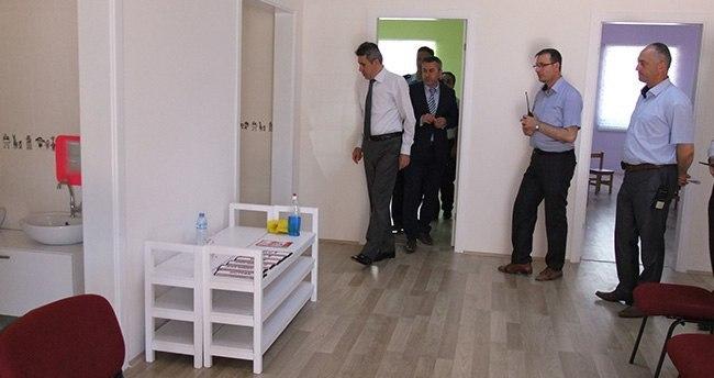 Akşehir'de iki derslikli anaokulu yaptırıldı