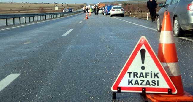 Ardahan-Kars karayolunda trafik kazası
