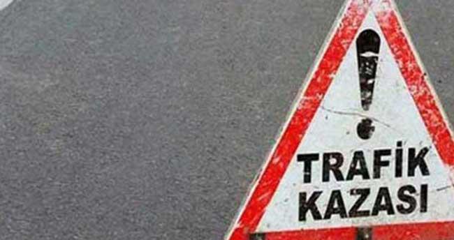 Aydın'da iki otomobil çarpıştı: 8 yaralı