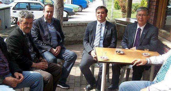 Babaoğlu seçim çalışmalarını Beyşehir'de sürdürdü