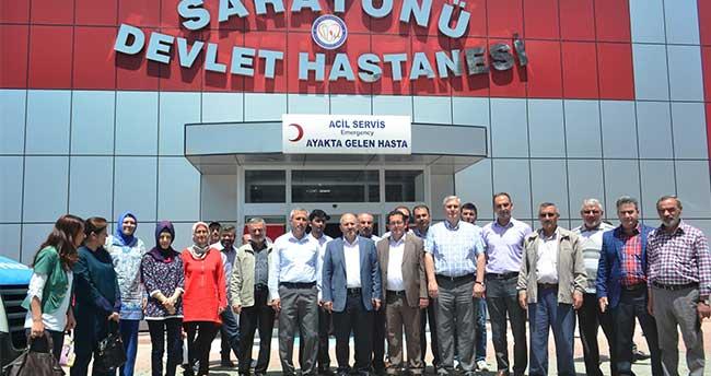 """Baloğlu: """"Milletin birliğini ve huzurunu bozmaya çalışanları kınıyorum"""""""