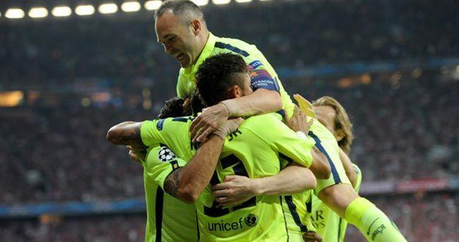 Barça Berlin biletini kaptı