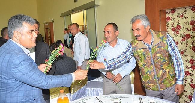 Başkan Özgüven, işçi bayramında belediye çalışanları ile bir araya geldi