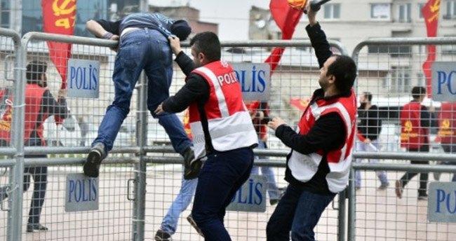Beşiktaş'ta polis müdahalesi!