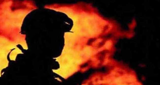 Beypazarı'nda yangın