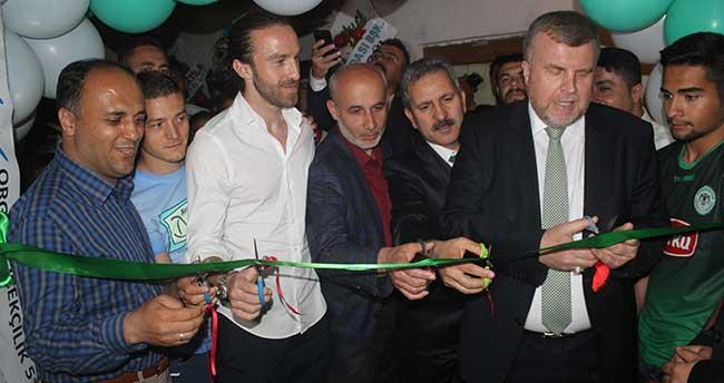 Beyşehir'de Konyaspor Taraftarlar Derneği açıldı
