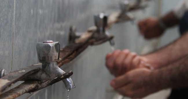 Camide musluk hırsızlığına 'prangalı' çözüm