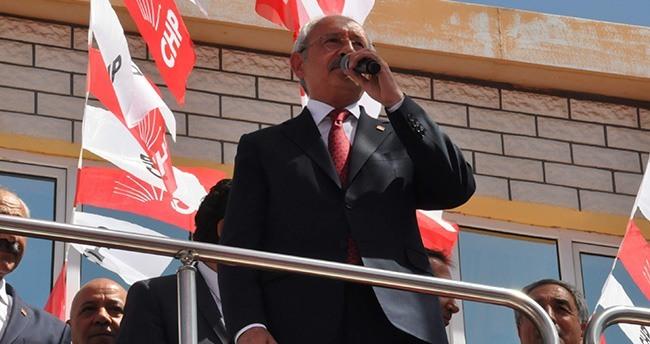 CHP Lideri Kemal Kılıçdaroğlu Akşehir'de