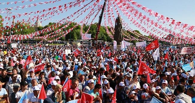 CHP Lideri Kemal Kılıçdaroğlu Konya'da
