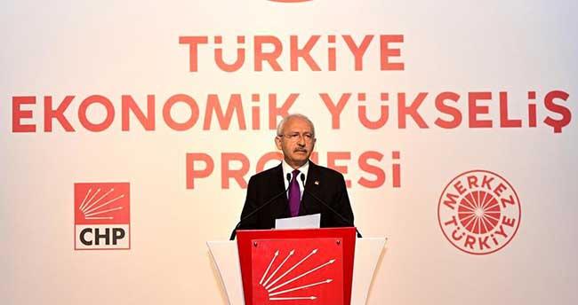 """CHP'den """"Türkiye Ekonomik Yükseliş Projesi"""""""