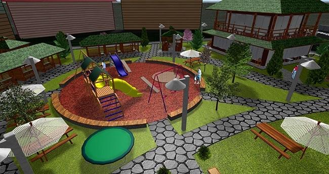 Cihanbeyli'ye yeni park yapılıyor