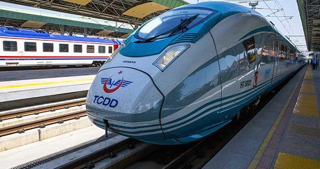 Çok yüksek hızlı tren setlerinin ilki seferine başladı