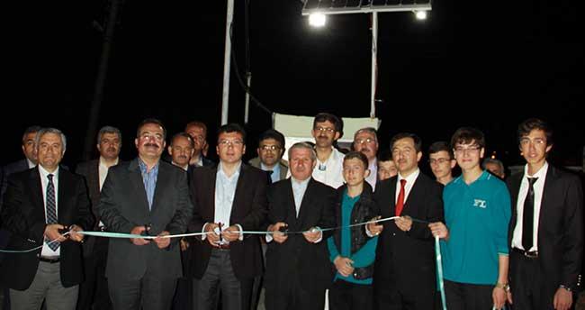 Çubuk Fen Lisesi'nde elektrik üretim ünitesi açıldı