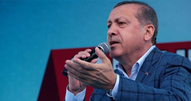 Cumhurbaşkanı Erdoğan dört dilde seslendi