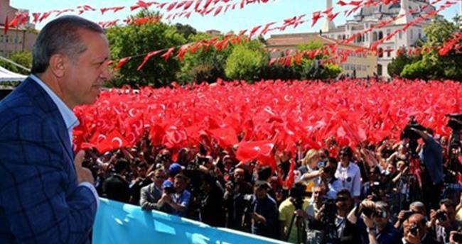 Cumhurbaşkanı Erdoğan Kırıkkale'de