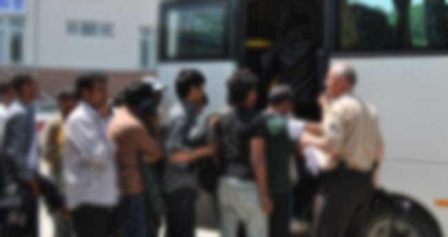 Edirne'de 45 kaçak yakalandı