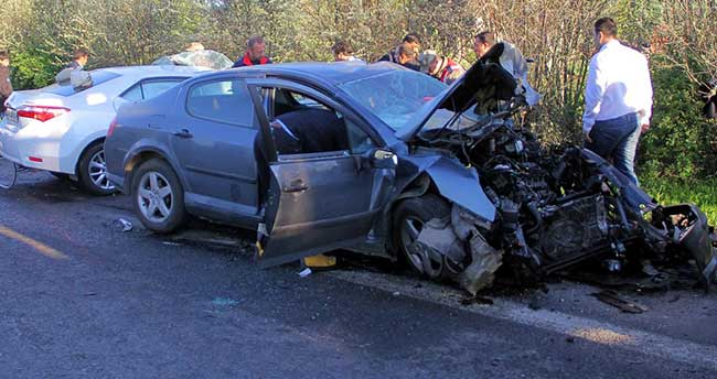 Elazığ'da trafik kazası: 2 ölü, 4 yaralı