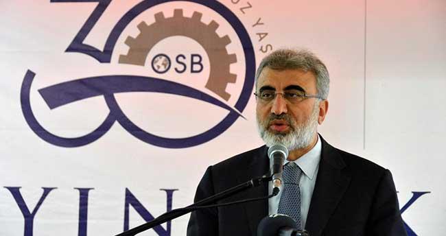 Enerji ve Tabii Kaynaklar Bakanı Yıldız Aydın'da