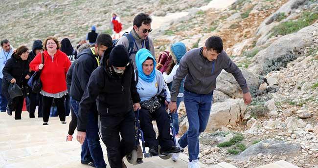 Engelliler, Nemrut Dağı'na çıktı