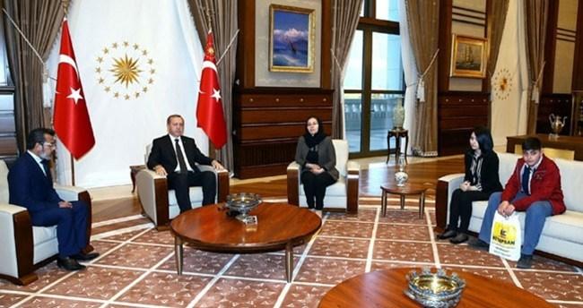 Erdoğan, Özgecan'ın ailesini kabul etti