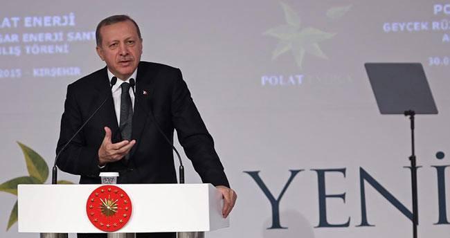 Erdoğan: 'Şimdi asgari ücrette açık arttırma başladı'