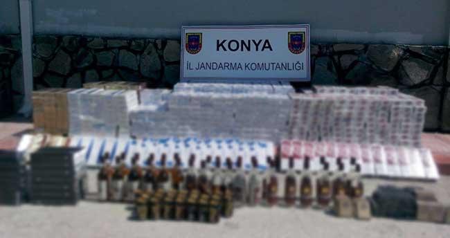 Ereğli'de kaçakçılık operasyonu
