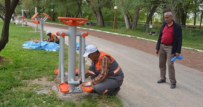 Ereğli'de parklar yenileniyor