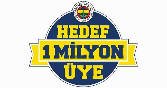 """Fenerbahçe Kulübü'nün """"Hedef 1 Milyon Üye"""" projesi"""