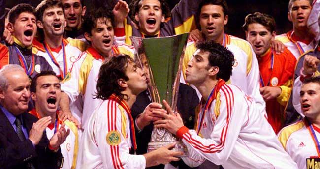 Galatasaray'ın UEFA Kupası zaferinin 15. yıl dönümü