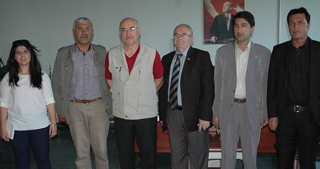 Hak-Par'dan Gazetemize Ziyaret