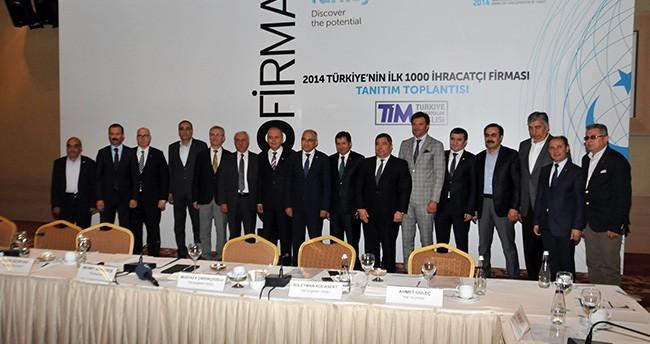 İlk 1000 ihracatçı firma belli oldu