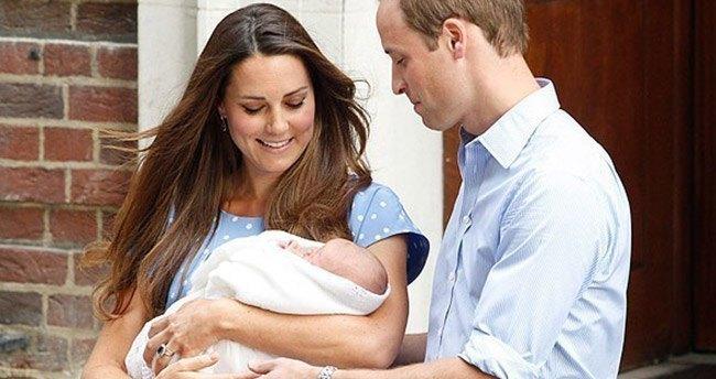 İngiltere kraliyet bebeği dünyaya geldi