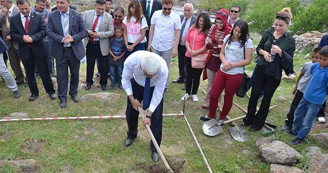 Karaman'da kazı çalışmaları