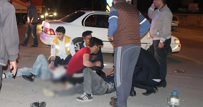 Karaman'da trafik kazası: 2 ağır yaralı
