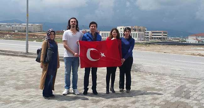 """Kırşehir'de """"Her Eve Bir Bayrak"""" kampanyası"""