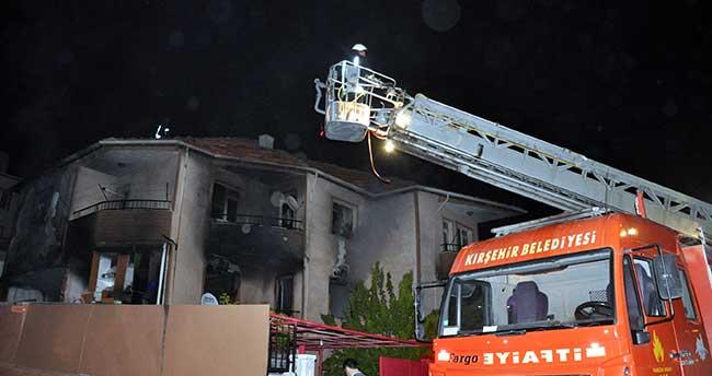 Kırşehir'de intihar girişimi
