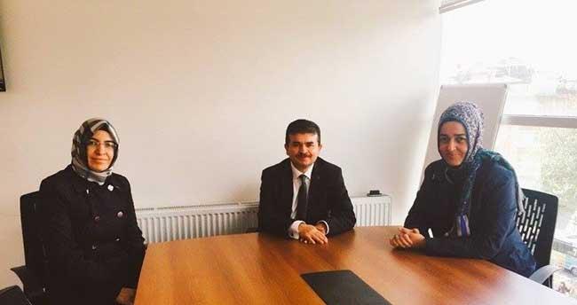 Konya KADEM'den AA Konya Bölge Müdürlüğüne ziyaret