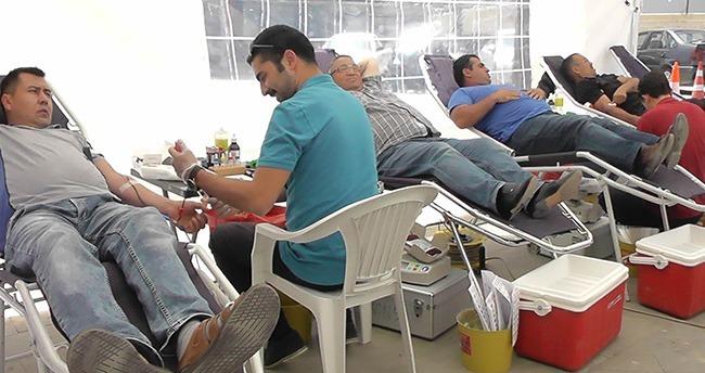 Konya Kızılay, Kulu ilçesinde Kan Alımına Başladı