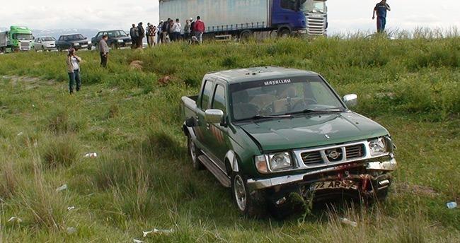 Konya'da kamyonet koyun sürüsüne çarptı