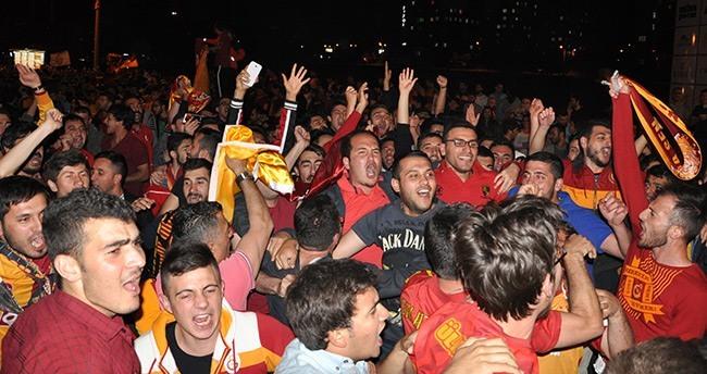 Konya'da şampiyonluk coşkusu