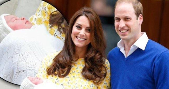Kraliyet bebeğinin ismi açıklandı