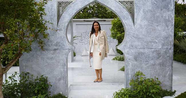 """Londra'da """"İslamiyetin Güzelliği"""" bahçesi"""