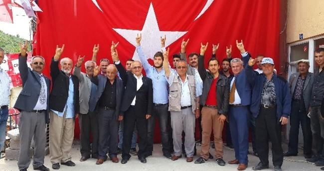MHP Adayı Gönen Hadim Ve Taşkent'te Destek İstedi