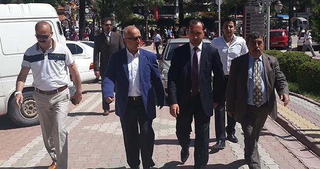 MHP Adayı Gönen, Meram'da Seçim Çalışmalarına Devam Etti