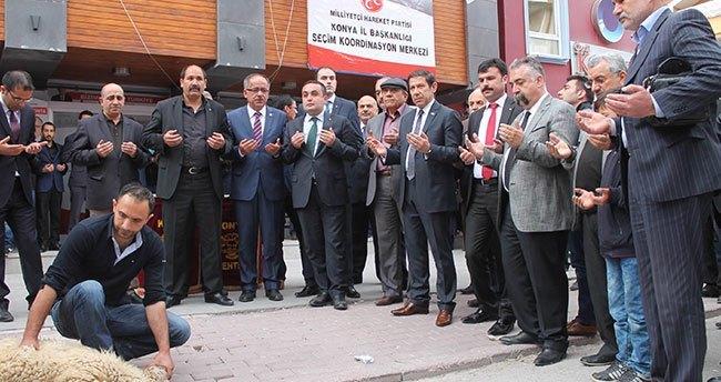 MHP Konya Teşkilatına seçim aracı takviyesi