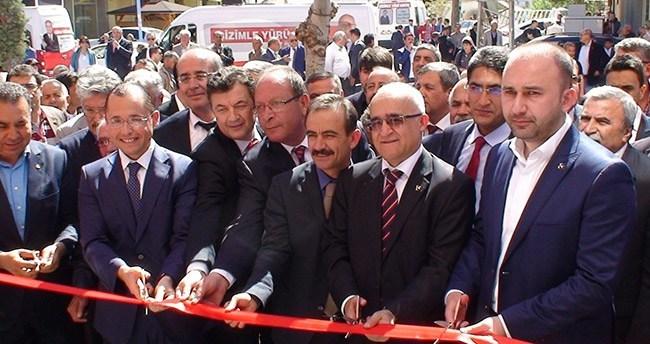 MHP'den Ereğli seçmen iletişim merkezi açılışı