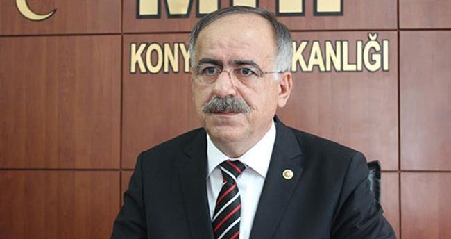 """MHP'li Kalaycı : """"YHT Hattı Çalışması Konya'yı İkiye Böldü"""""""