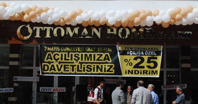 Ottoman Home & Art için görkemli açılış