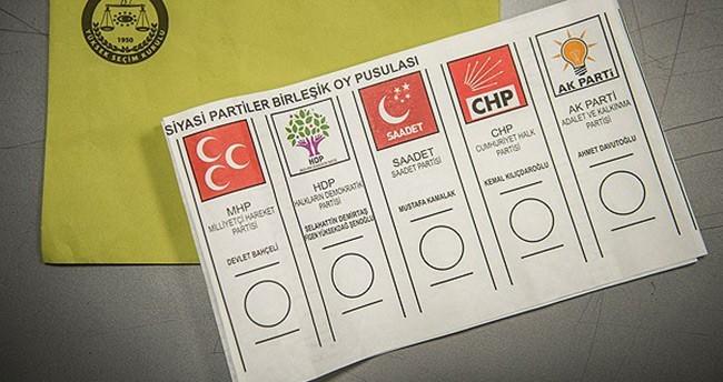 Oy pusulaları basıldı