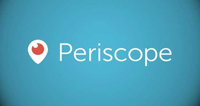 Periscope uygulaması artık Android'de!